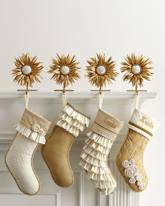 Sparkling Gold Christmas Decor Ideas