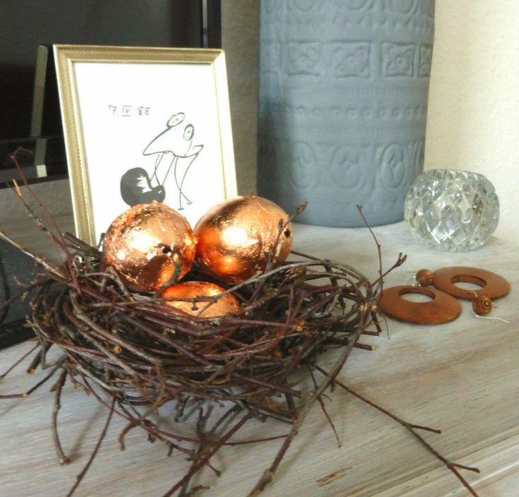 27 Sparkling Gold And Copper Easter Dcor Ideas DigsDigs