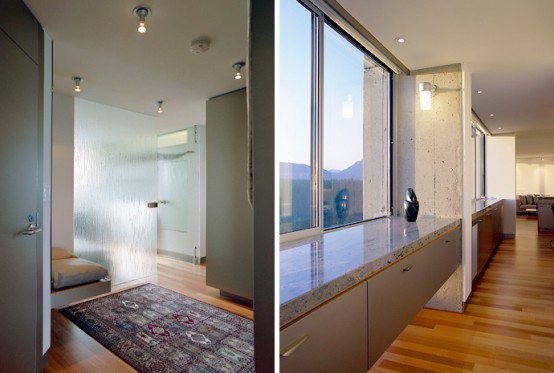 Spatial Condo Design With Clean Materials Palate