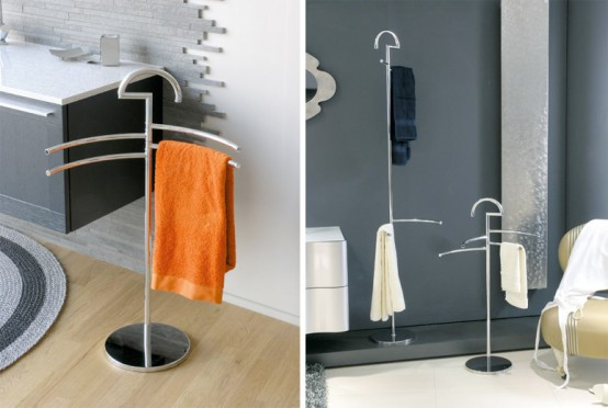 Spazio Towel Stands