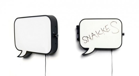Speech Bubble Wall LED Lamp – Snakkles by Northern Lighting