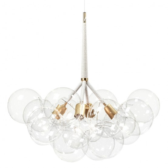 Spectacular X-Large Bubble Chandelier To Make A Statement