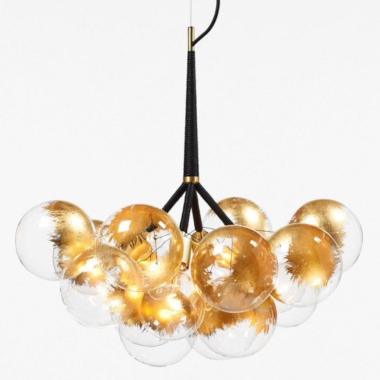 Fabulous Spectacular X Large Bubble Chandelier To Make A Statement