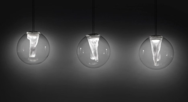 Spherical And Perforated Lighting Collection By Resident