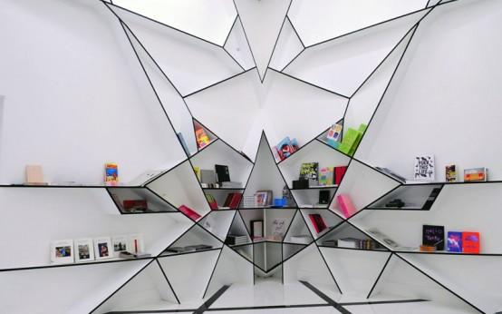 Spider Bookshelf Design