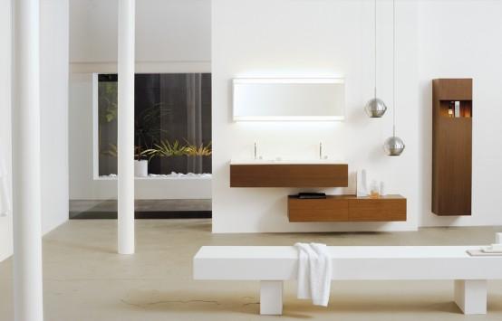 Spiritual balance sophisticated collection of bathroom for Bathroom furniture ideas
