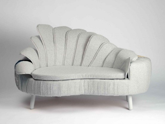 Sofa That Shows Differences in Relationships – Split Personality by Ditte Maigaard