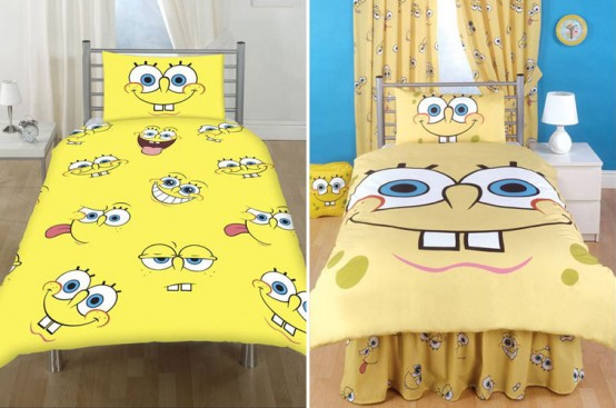 Sponge Bob Themed Room Design