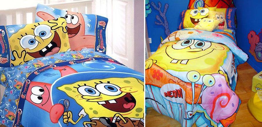Spongebob Rooms Designs