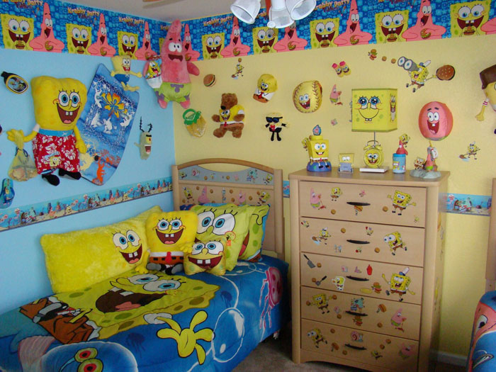 SpongeBob SquarePants Themed Room Design DigsDigs
