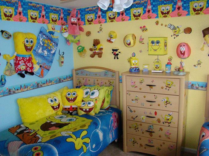 Sponge Bob Themed Room Design