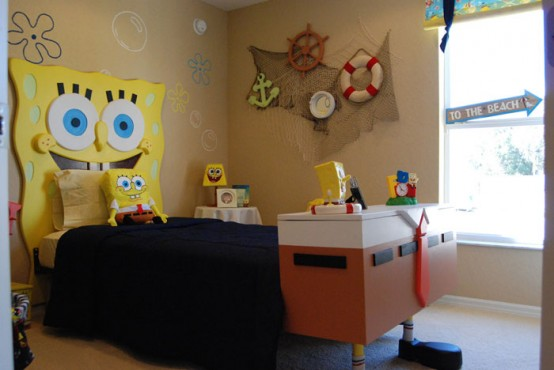 SpongeBob SquarePants Themed Room Design