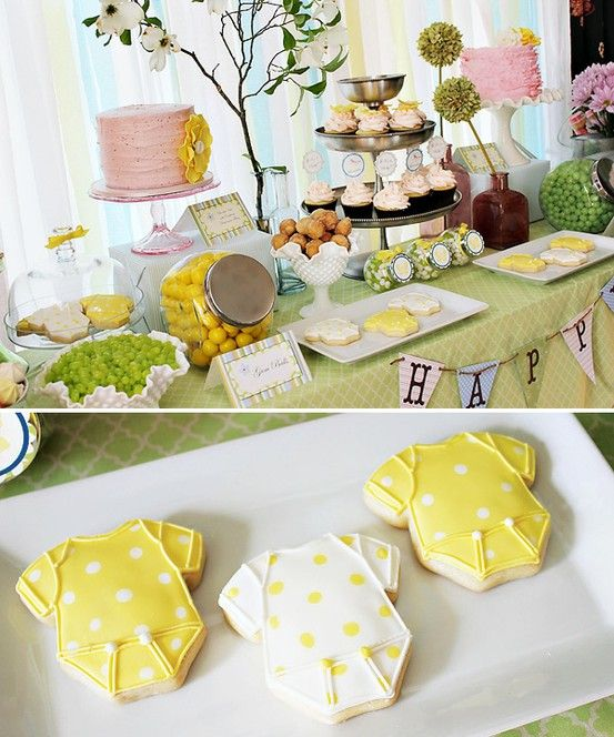 spring gender neutral baby shower