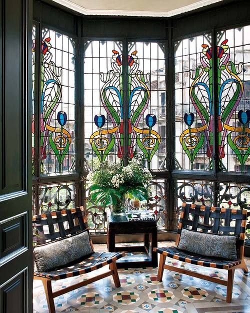 Homes Ideas: 25 Stained Glass Ideas For Indoor And Outdoor Home Decor
