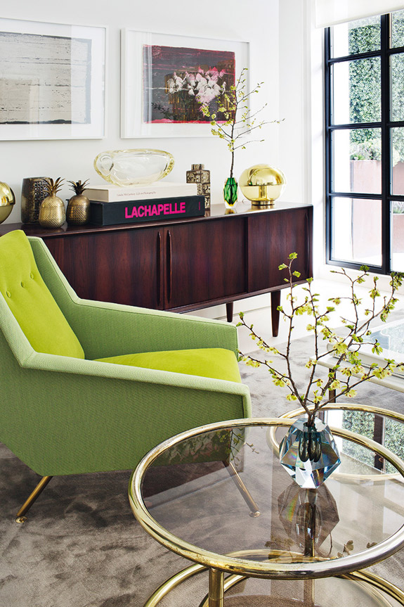Picture Of stand out modern home in a mix of bold colors  6