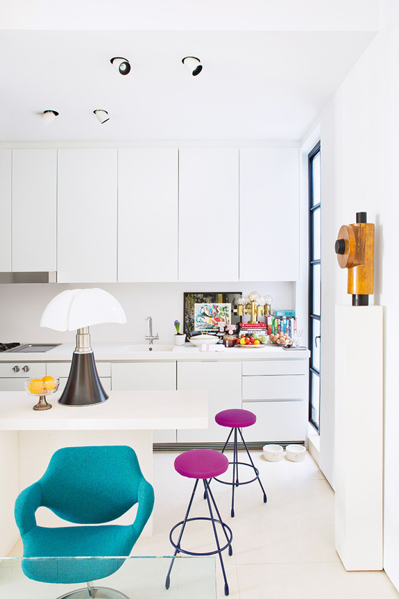 Picture Of stand out modern home in a mix of bold colors  7