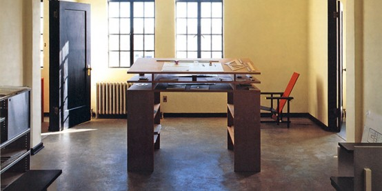 Standing Writing Desk With Lots Of Storage Space