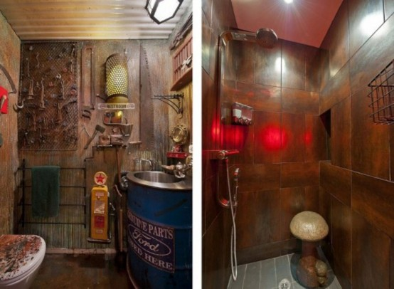 Steampunk Apartment With An Expressive Interior