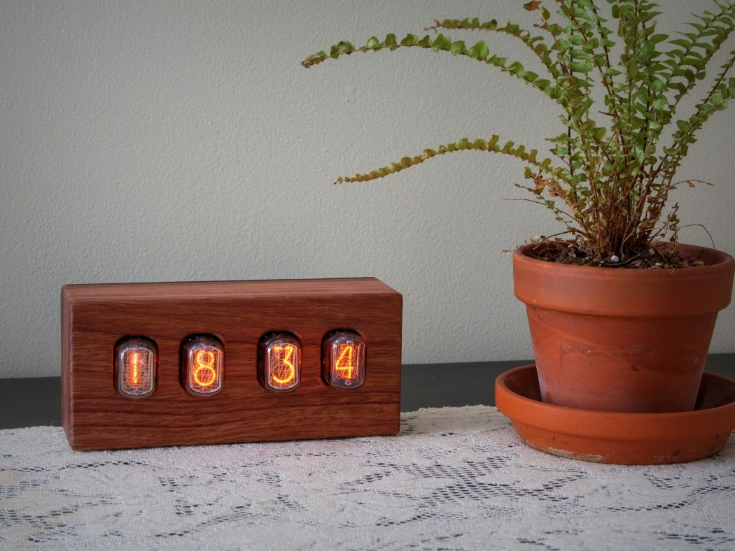 Picture Of steampunk nixie clock that requires little power  11