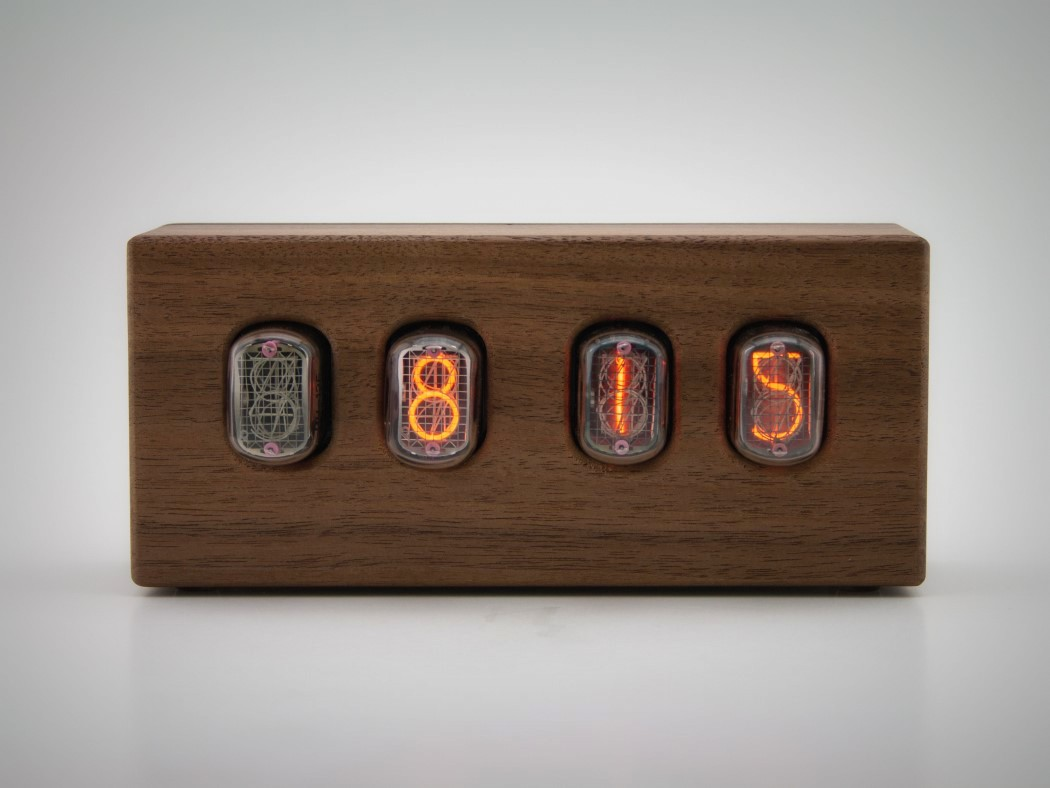 Picture Of steampunk nixie clock that requires little power  3