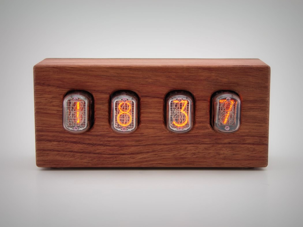 Picture Of steampunk nixie clock that requires little power  4