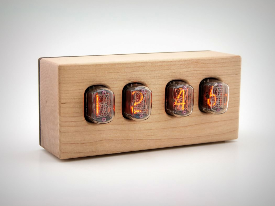 Picture Of steampunk nixie clock that requires little power  5