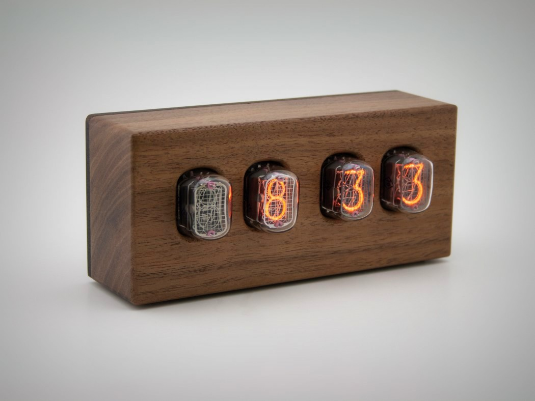 Picture Of steampunk nixie clock that requires little power  6