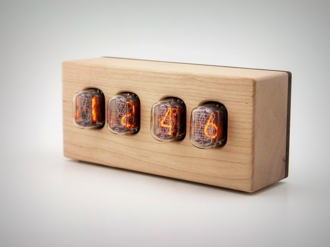 Picture Of steampunk nixie clock that requires little power  8