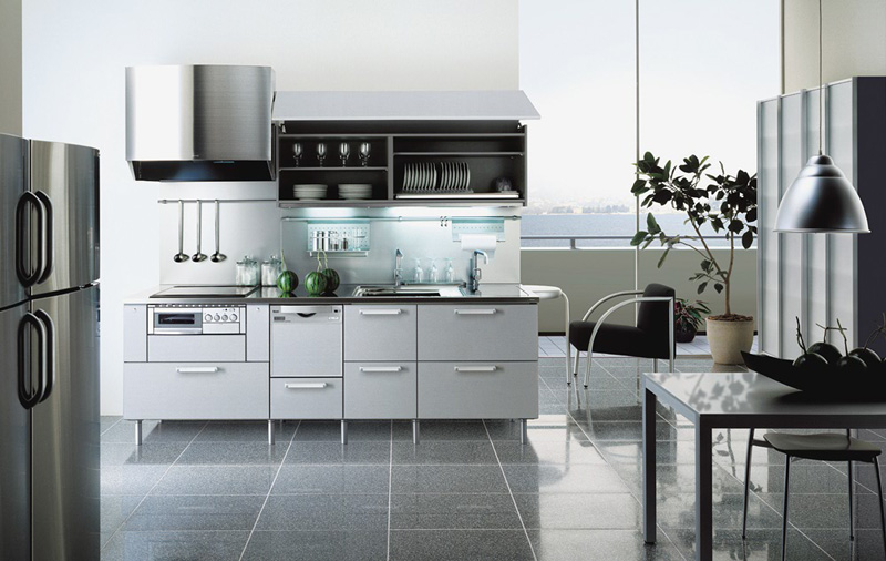 Magnificent Grey Kitchens with White Cabinets 800 x 506 · 125 kB · jpeg
