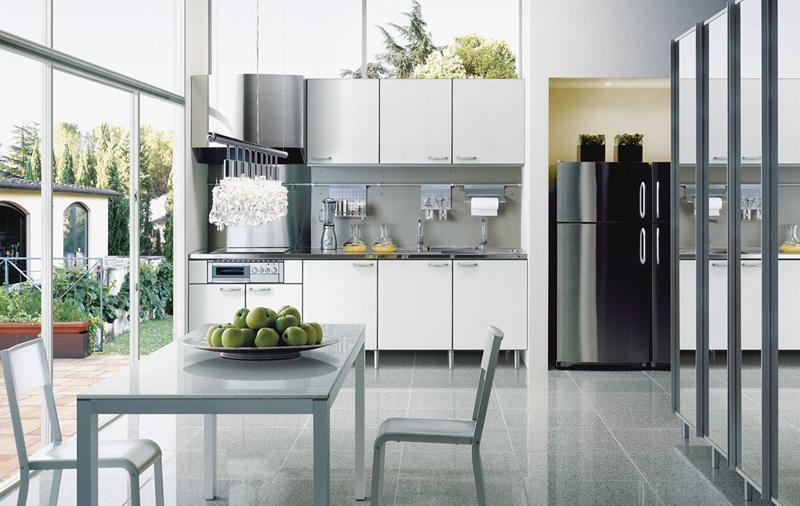 Steel Colored Kitchen Design By TayoKitchen Part 82