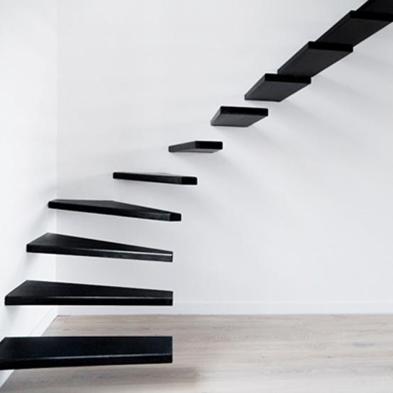 Steel Minimal Staircase