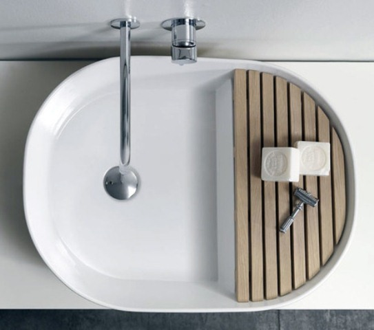 Stylish And Practical Step Basin By Note Design Studio