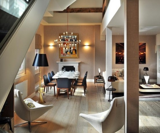 Stpancras Penthouse With Luxurious Modern Interiors