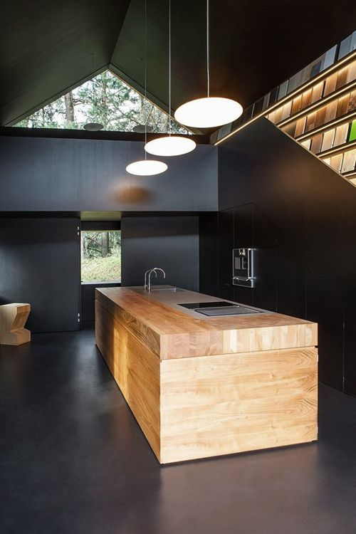 Striking Black Kitchens To Make A Statement