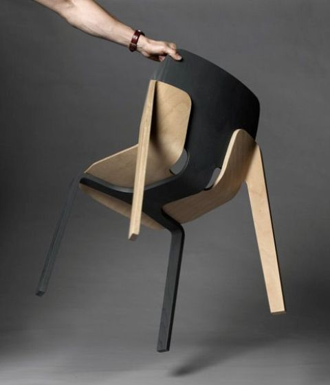 Striking Two Toned Wooden Furniture Pieces