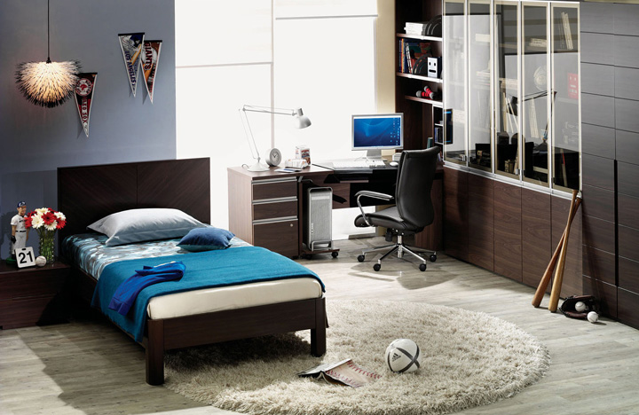 Student room furniture from hanssem digsdigs Bedroom design for teenage guys