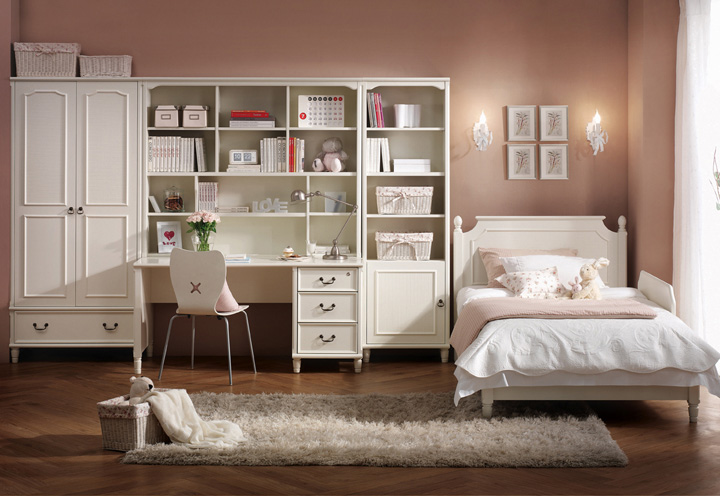 Student room furniture from hanssem digsdigs - Bedroom for girl interior design ...