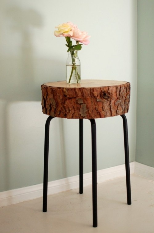 Stump Decor Pieces For Natural Home Decor
