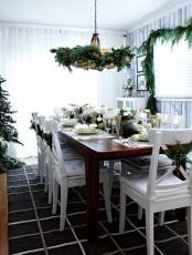 Stunning Christmas Dining Room Decor Ideas
