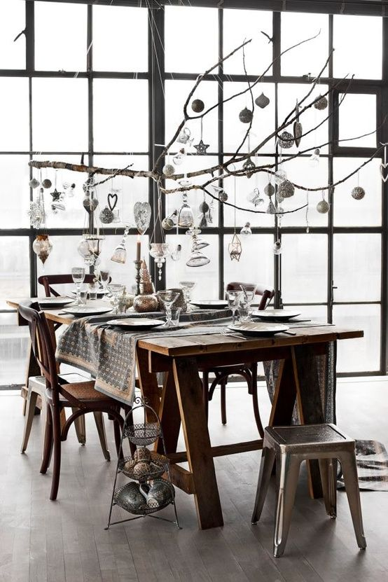 Stunning Christmas Dining Room Decor Ideas : ideas for dining room decor - www.pureclipart.com