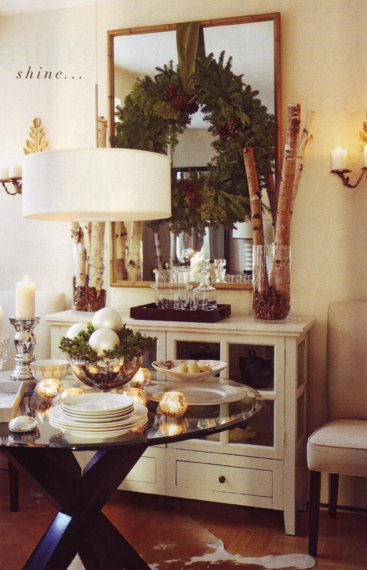 Christmas Dining Room Ideas Part - 33: Stunning Christmas Dining Room Decor Ideas