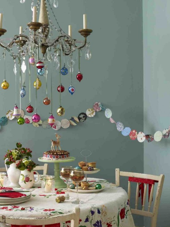 Stunning Christmas Dining Room Decor Ideas