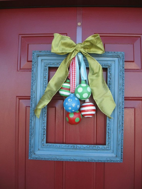 stunning christmas front door decor ideas - How To Decorate Your Door For Christmas