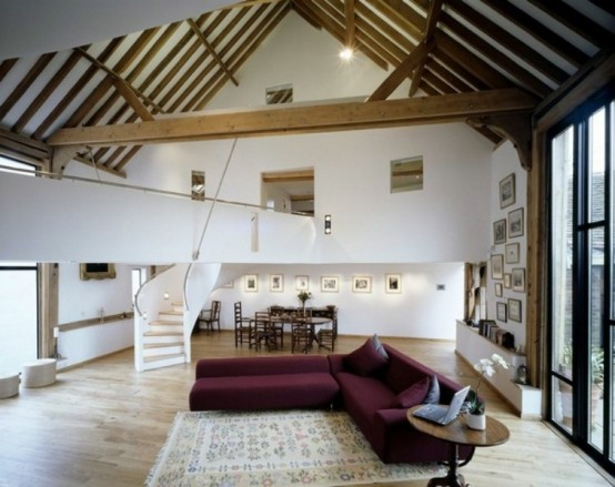 Stunning Conversion Of An Old Barn