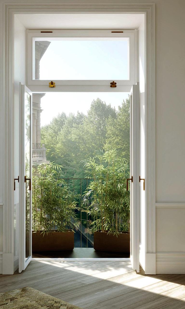 Stunning Swedish Apartment In Natural Materials And Shades