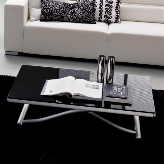 Stylish And Adjustable Coffee Table U2013 Romeo By Bontempi Casa