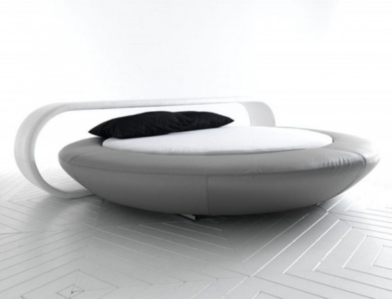 Stylish And Comfortable Minimalist Round Bed