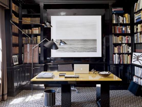 Beautiful Home Library Design Ideas Design Ideas Amp Remodel Pictures  Houzz
