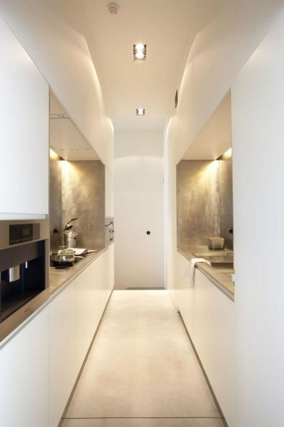 31 stylish and functional super narrow kitchen design ideas digsdigs stylish and functional super narrow kitchen design ideas sisterspd
