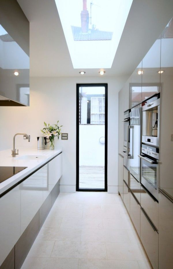 Picture Of stylish and functional narrow kitchen design ideas  3